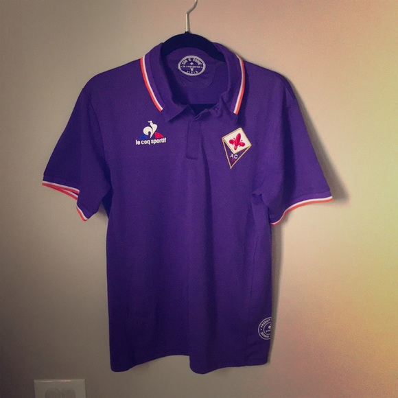 2ba1d011708 Le Coq Sportif Other - Fiorentina Home Soccer Jersey